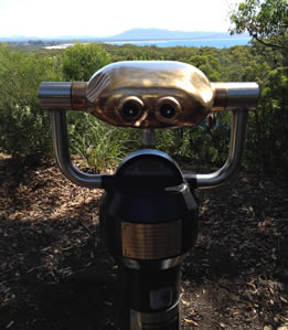 Focus in on Trial Bay with this fabulous Hi Spy viewing machine